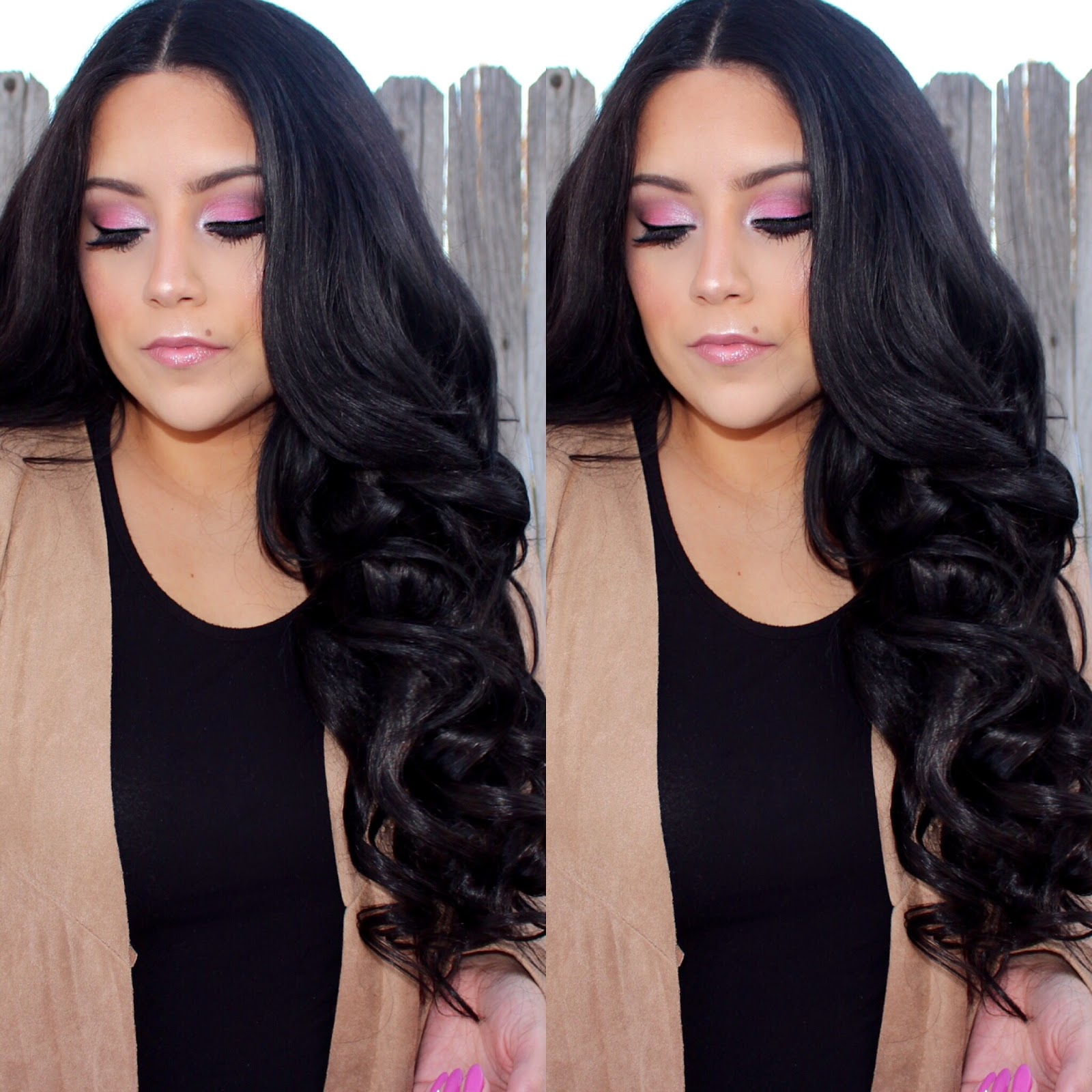 Makeup tutorial girly pink nati vergara littlemissnati bellami hair extensions in bellissima 220g off black use my code natalia for 5 off all extensions pmusecretfo Image collections