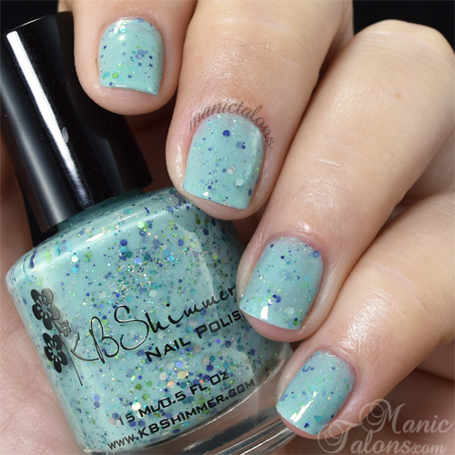 KBShimmer I've Seen Sweater Days Swatch