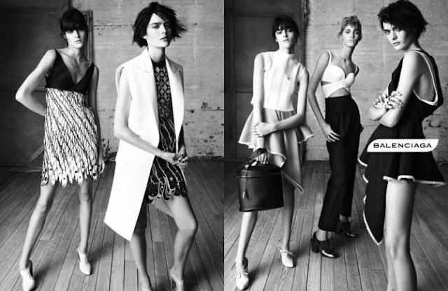 Balenciaga Spring/Summer 2013 Ad Campaign