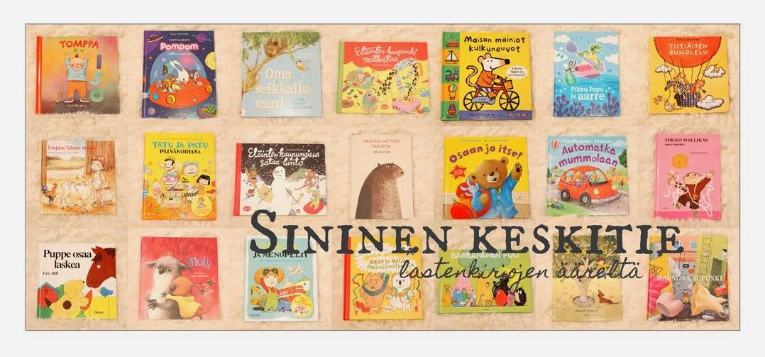 Tervetuloa myös lastenkirjablogiini!
