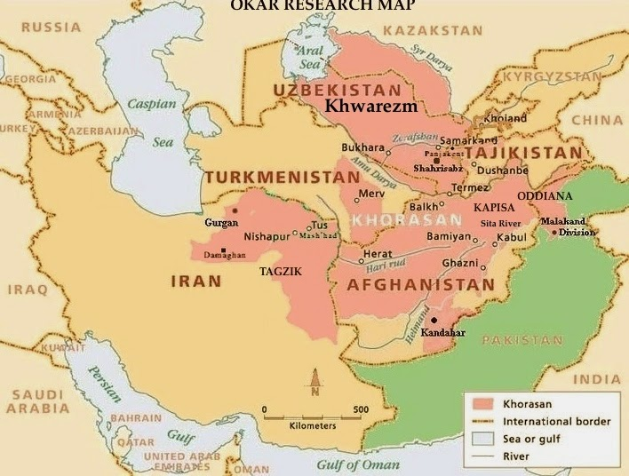 World Map 2000 Bc.Okar Research Ancient Khorasan Land Where The Sun Rises 2000 Bc