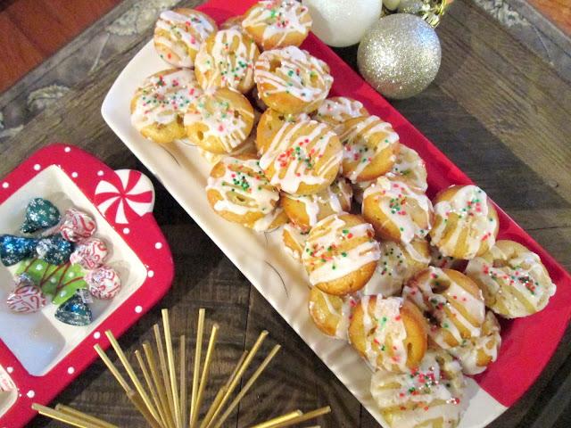 Eggnog Loaf Mini Bites Christmas Recipe