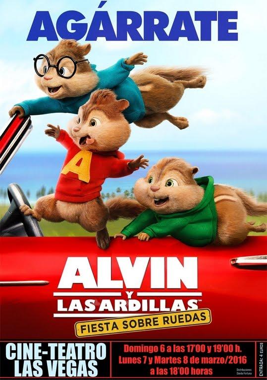 Cine: Agárrate, Alvin y las ardillas