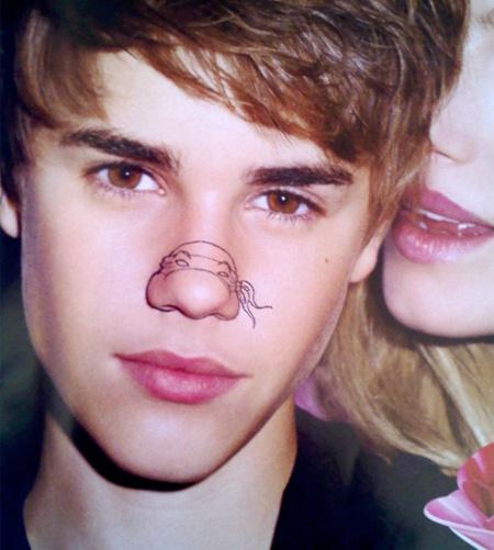 Teenage Mutant Ninja Turtles - Justin Bieber