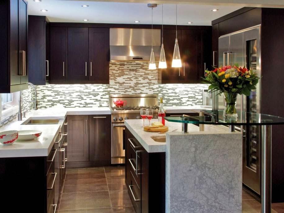 Creazioni di un cuore sognante: Idee per la casa: rivestimento cucina