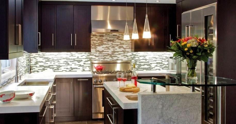Creazioni di un cuore sognante idee per la casa - Rivestimento cucina no piastrelle ...
