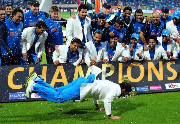 Now Dhoni Is The Only Captain Who Has Won All Major Championships Of ICC That Are T 20 World Cup And Champions Trophy