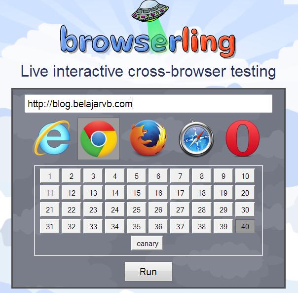 Cara Melihat Web atau Blog Dari Berbagai Browser Online