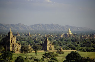 The Architectural Wonders of Bagan burma