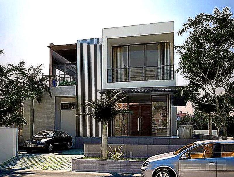 Menentukan Konsep Rumah Minimalis Tampak Depan   Rumah Minimalis Mewah
