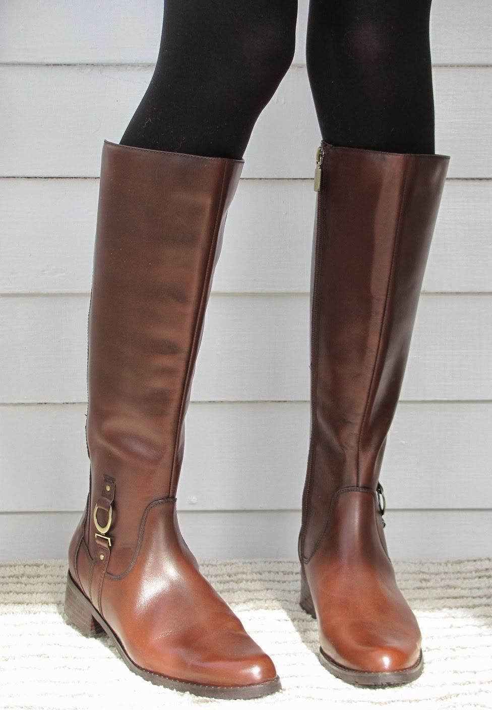 Howdy Slim! Riding Boots for Thin Calves: Blondo Vallera