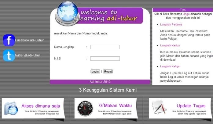 Diosandy S Blog Aplikasi E Learning Materi Ujian Nasional Untuk Siswa Sekolah Menengah Atas