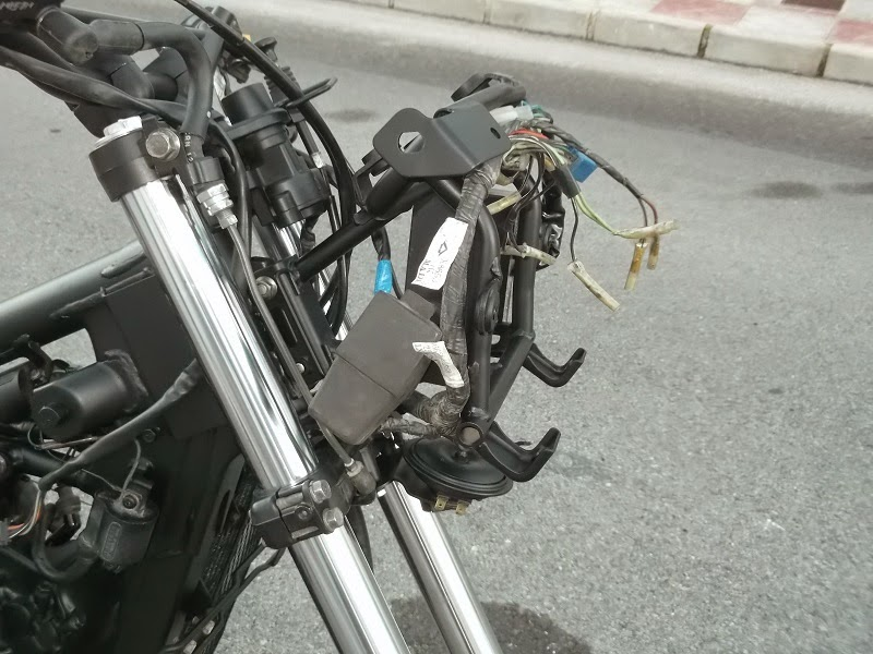Fairing mount Suzuki DR 650