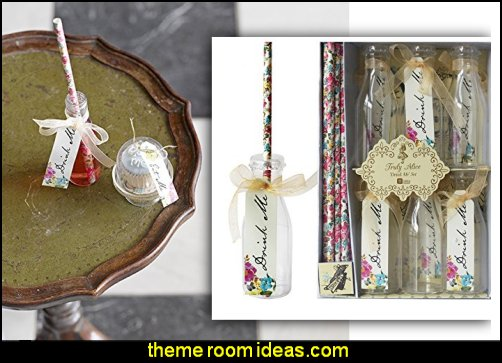 Alice 'Drink Me' Party Drinkware Set alice in wonderland theme party decorations