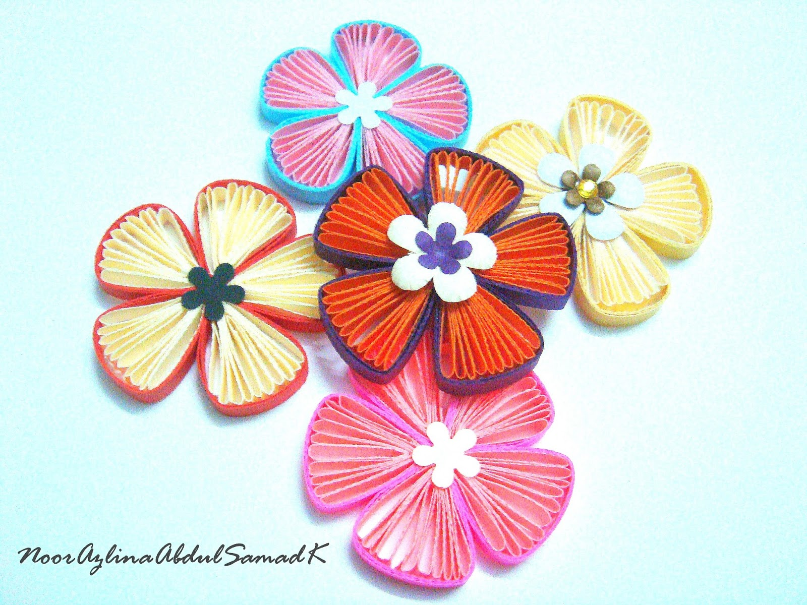 Quiling Fan Flower Tutorial