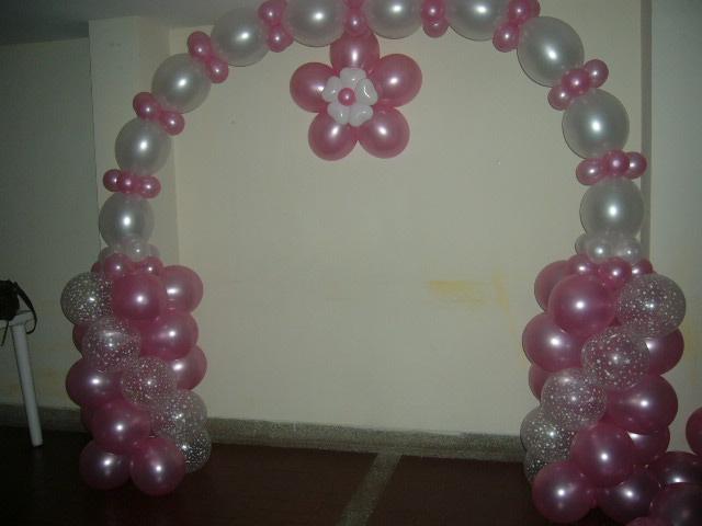 Decoracion con globos decoracion con globos para 15 a os for Decoracion con globos 50 anos