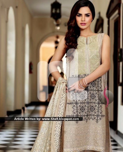 Nishat Linen Eid Dress Collection 2015