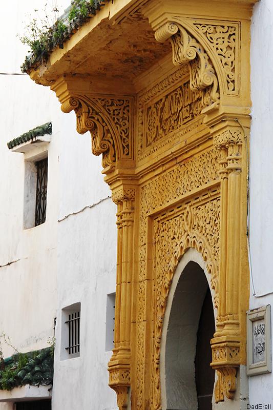 Dessus de porte à Rabat