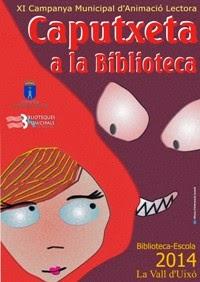 XI CAMPANYA MUNICIPAL D'ANIMACIÓ LECTORA BIBLIOTECA-ESCOLA. 2014