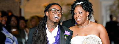 fotos de lil wayne en la boda de cita la madre de lil wayne