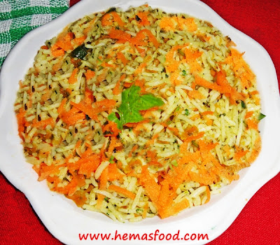 Ghee Carrot Rice