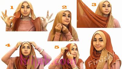 Cara Memakai Hijab Styles