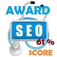 samsury seo score 61%