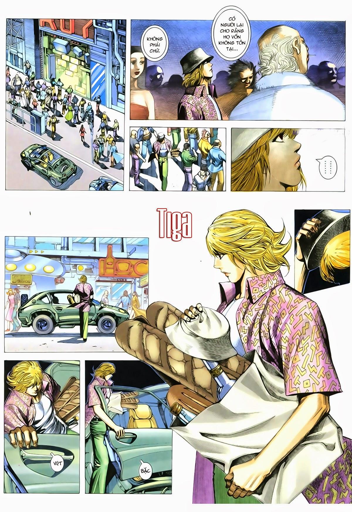 Tuyệt Địa Thiên Hành chap 8 Trang 29 - Mangak.info