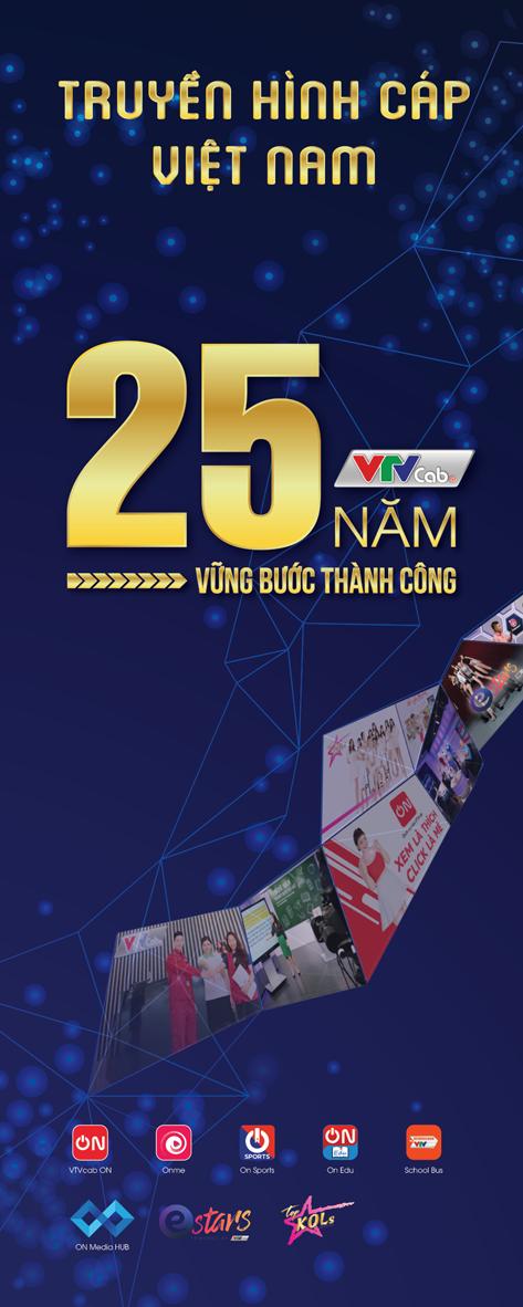 VTVcab 25 năm một chặng đường