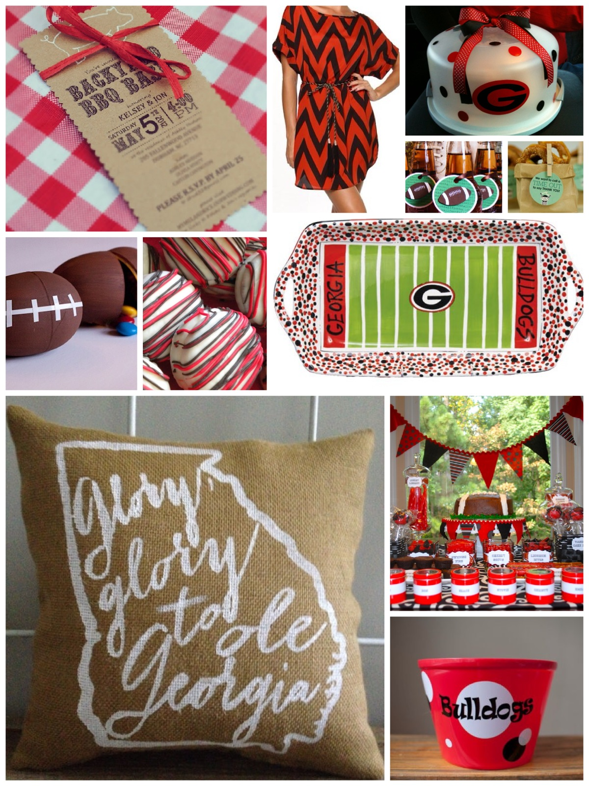 Inspiration Board - Go Dawgs | Cordier Events
