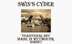 Swin's Cyder Made in Weymouth Personalised Bottles Available