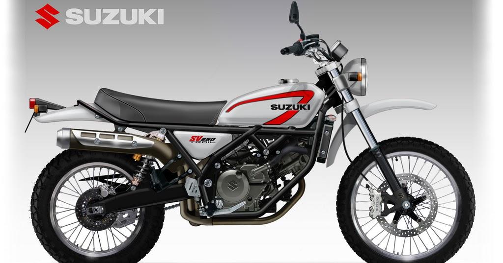 motosketches suzuki sv 650 trail concept. Black Bedroom Furniture Sets. Home Design Ideas