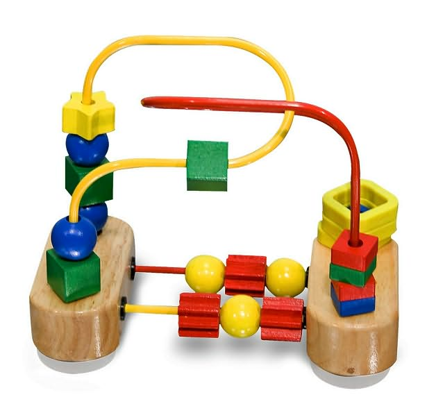 Baby thoughts blog toy spotlight melissa doug 39 s classic wooden toys Fine motor development toys
