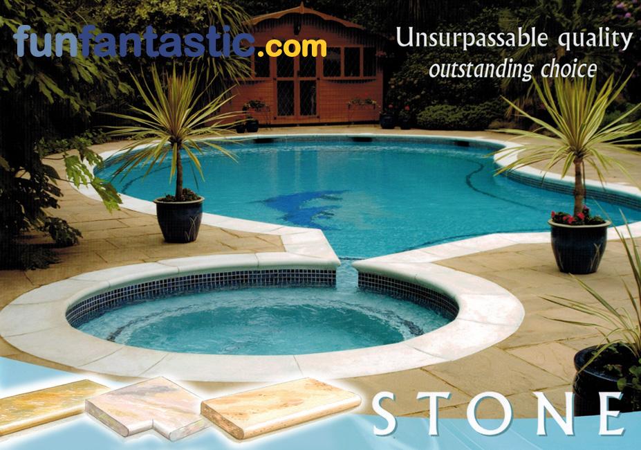 Fun Fantastic Uk Ltd Swimming Pool Coping Stones