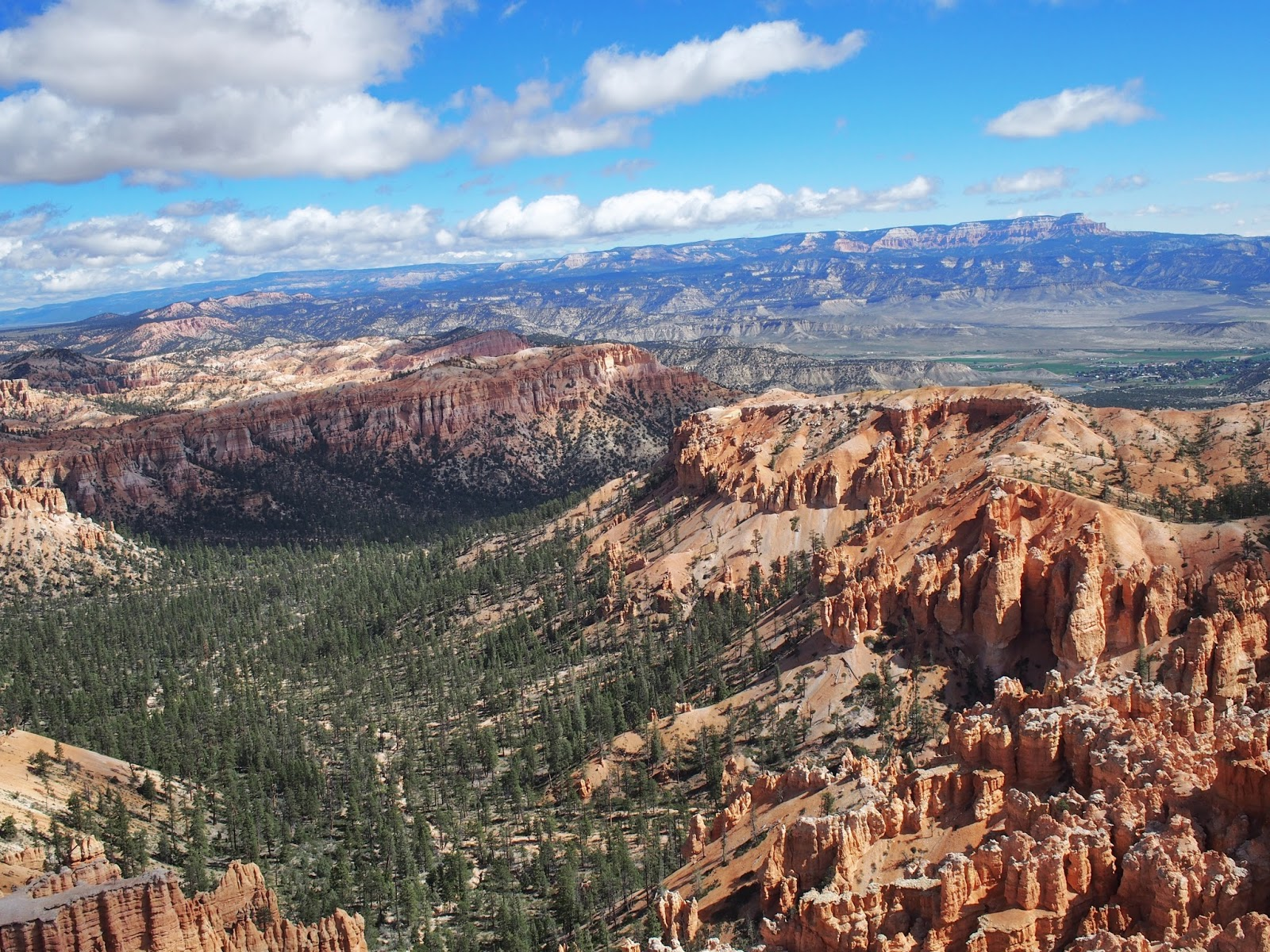 View from Bryce Point, #BrycePoint #Bryce Canyon #utah #hoodoos 2014