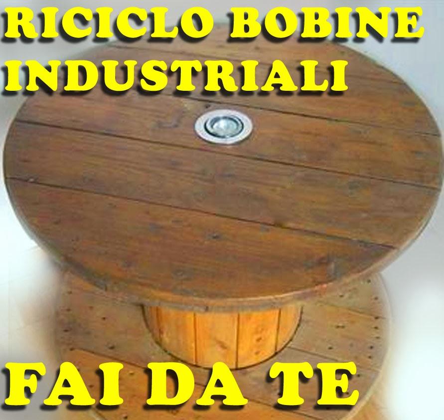 Tavolini da bobine avvolgicati rocchetti cavi elettrici for Rimodernare casa fai da te