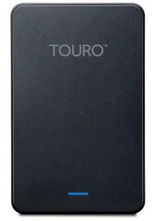 Tampilan Harddisk Eksternal Hitachi Touro Mobile Pro 500GB