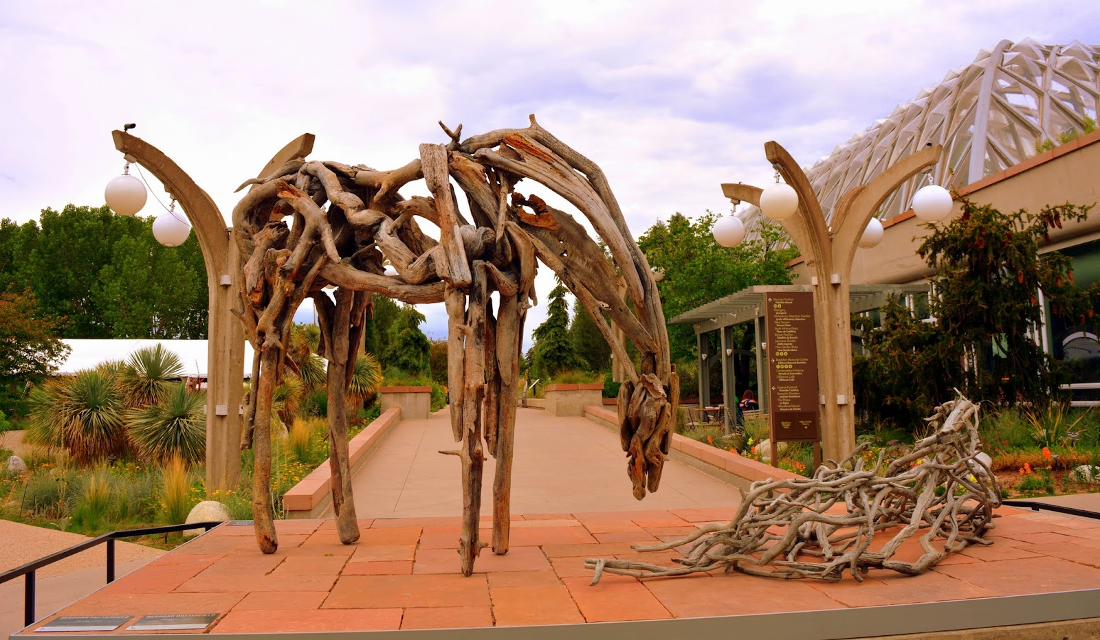 The Nature Of Horses Exhibit At The Denver Botanic Garden