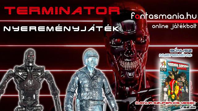 Terminator figura Nyereményjáték - by Fantasmania