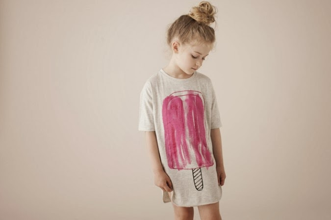 Popsicle tee by Soft Gallery SS14
