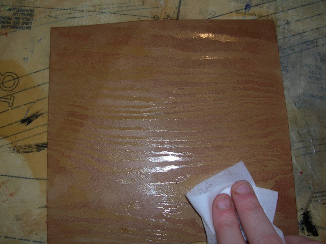 how to make wood grain