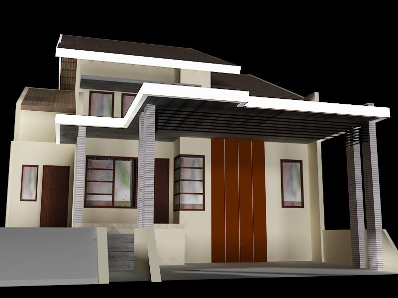 konsep kanopi beton minimalis type 85 jasa kreasi desain