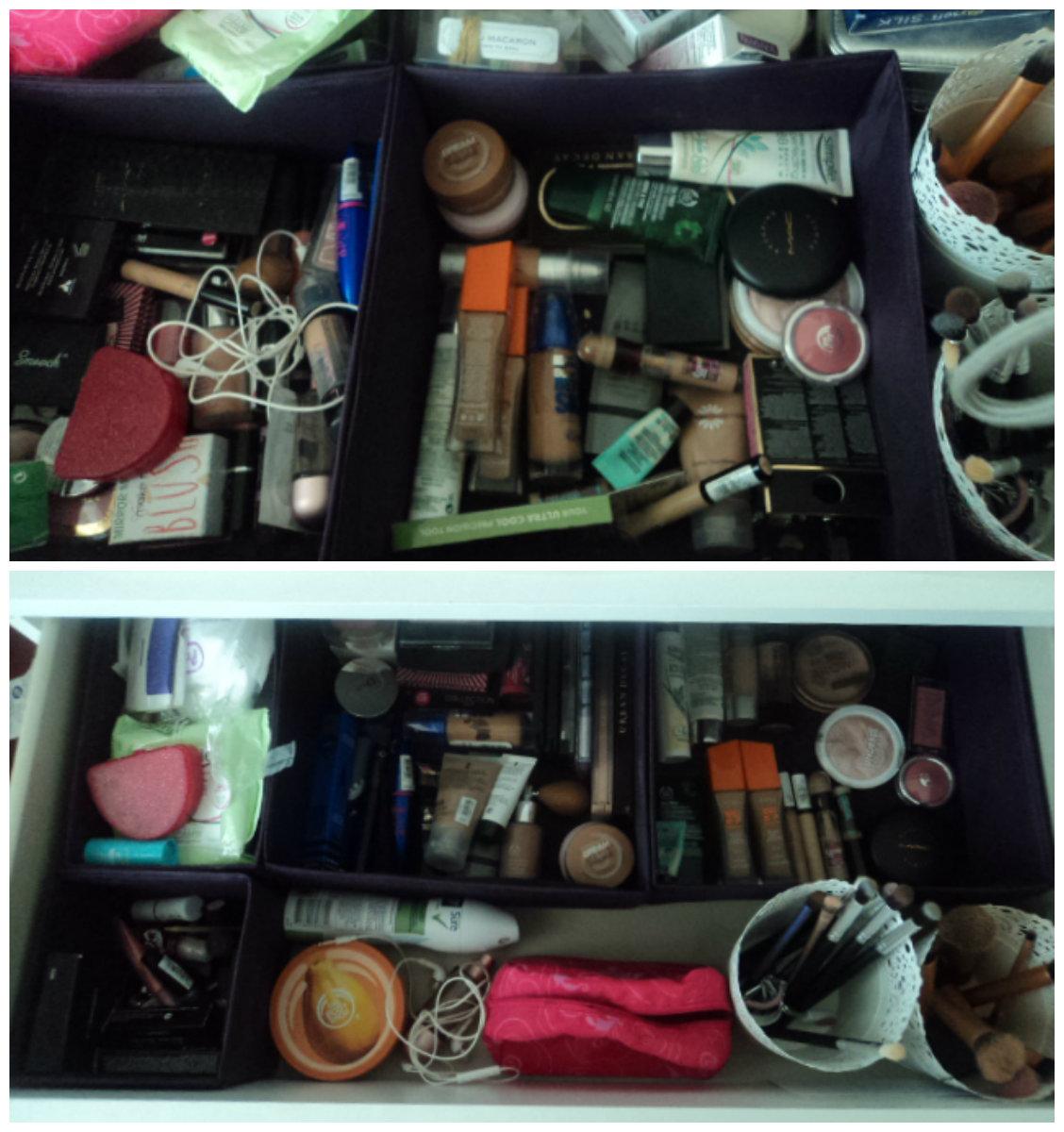 Make-up Organisation| Tips and Tricks