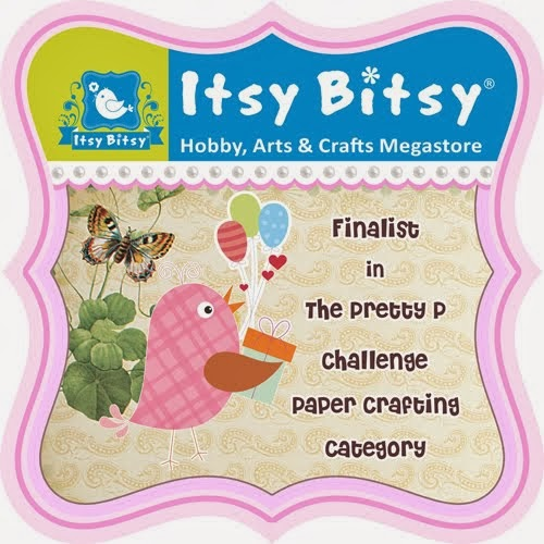 Finalist at Itsy Bitsy Oct'13