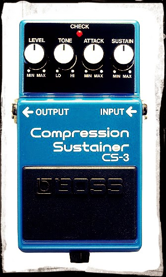 Boss CS-3 Compression and Sustain Pedal for $55
