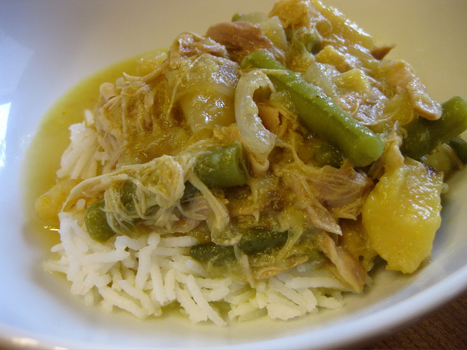 Oishikatta 美味しかった: Slow Cooker Yellow Thai Curry Chicken ...