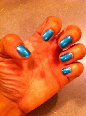 OPI+Austin tatious+Turquoise Peep My Polish: OPI Austin tatious Turquoise
