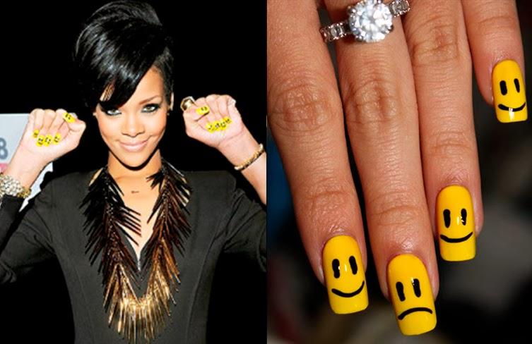 Unhas decoradas, Rihanna