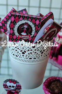 Pirulito Personalizado monster high
