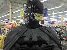 Lego Batman, Life Size Lego Batman, Lego Hero, Bat Man, Lego Creations, Lego Video, New Lego Ideas, Cool things made from Lego, Legos